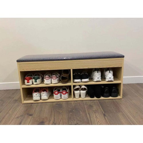 100cm Shoe Rack Bench