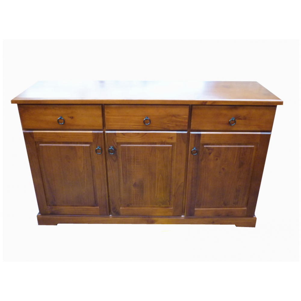 wooden buffet cabinet