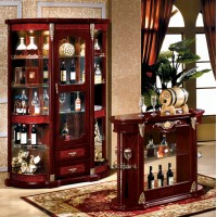 Display cabinet and Bar