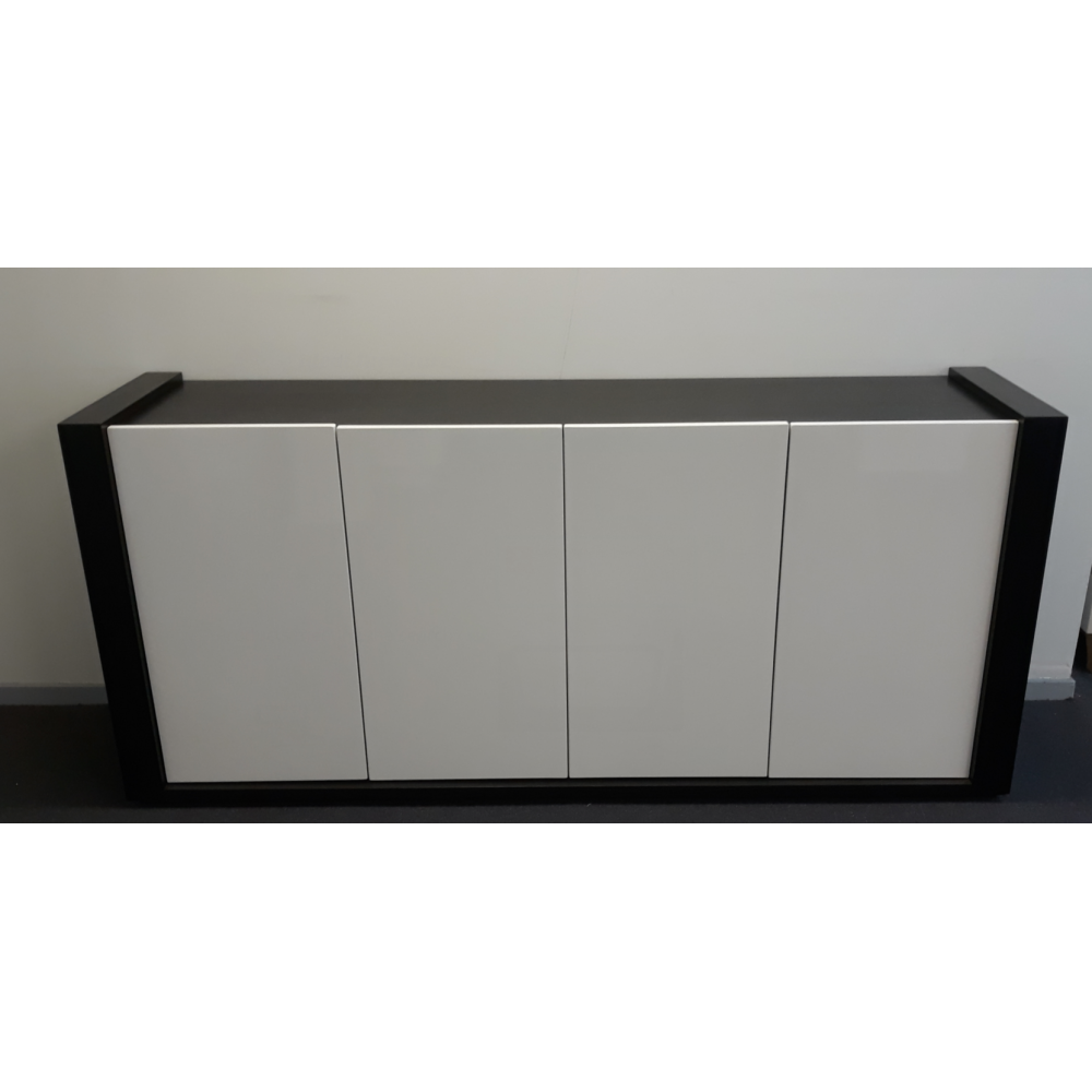 Storage cabinet -Black & white
