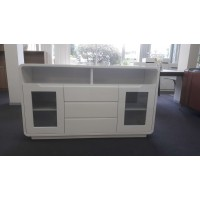 Buffet cabinet white gloss