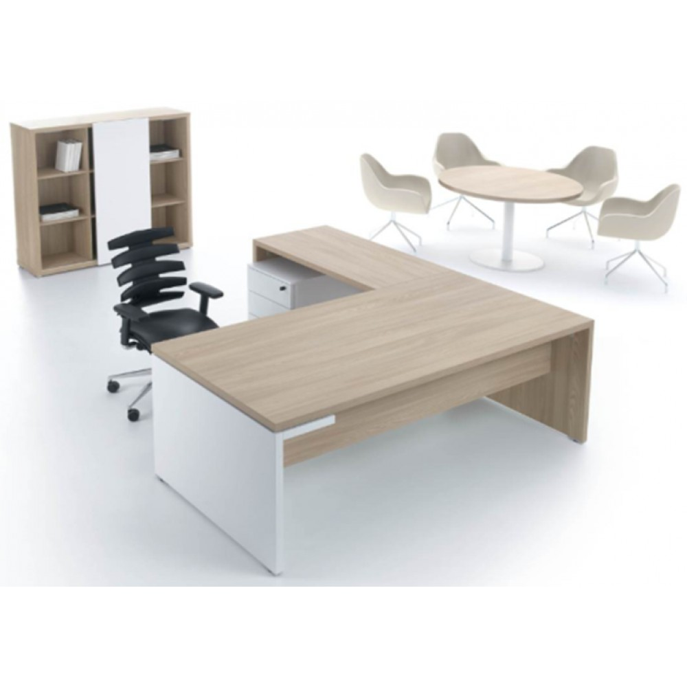 L shaped computer table 060801