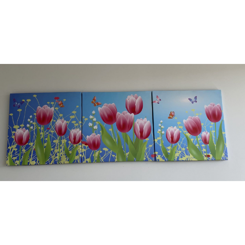 Wall Art -Spring flowers
