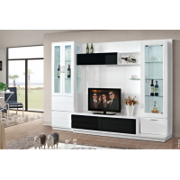 TV & display cabinet combination
