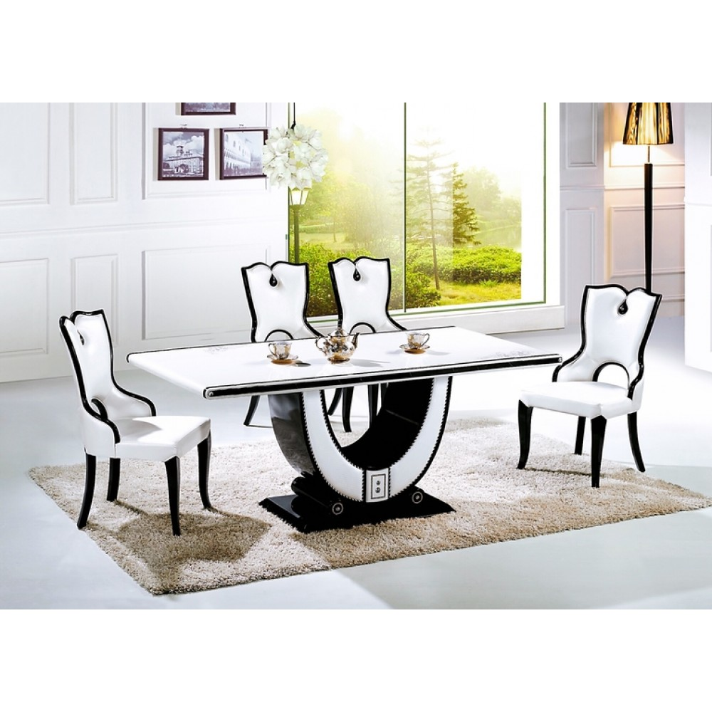 10 seater Marble top dining table