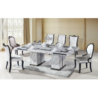 10-12 seater marble dining table