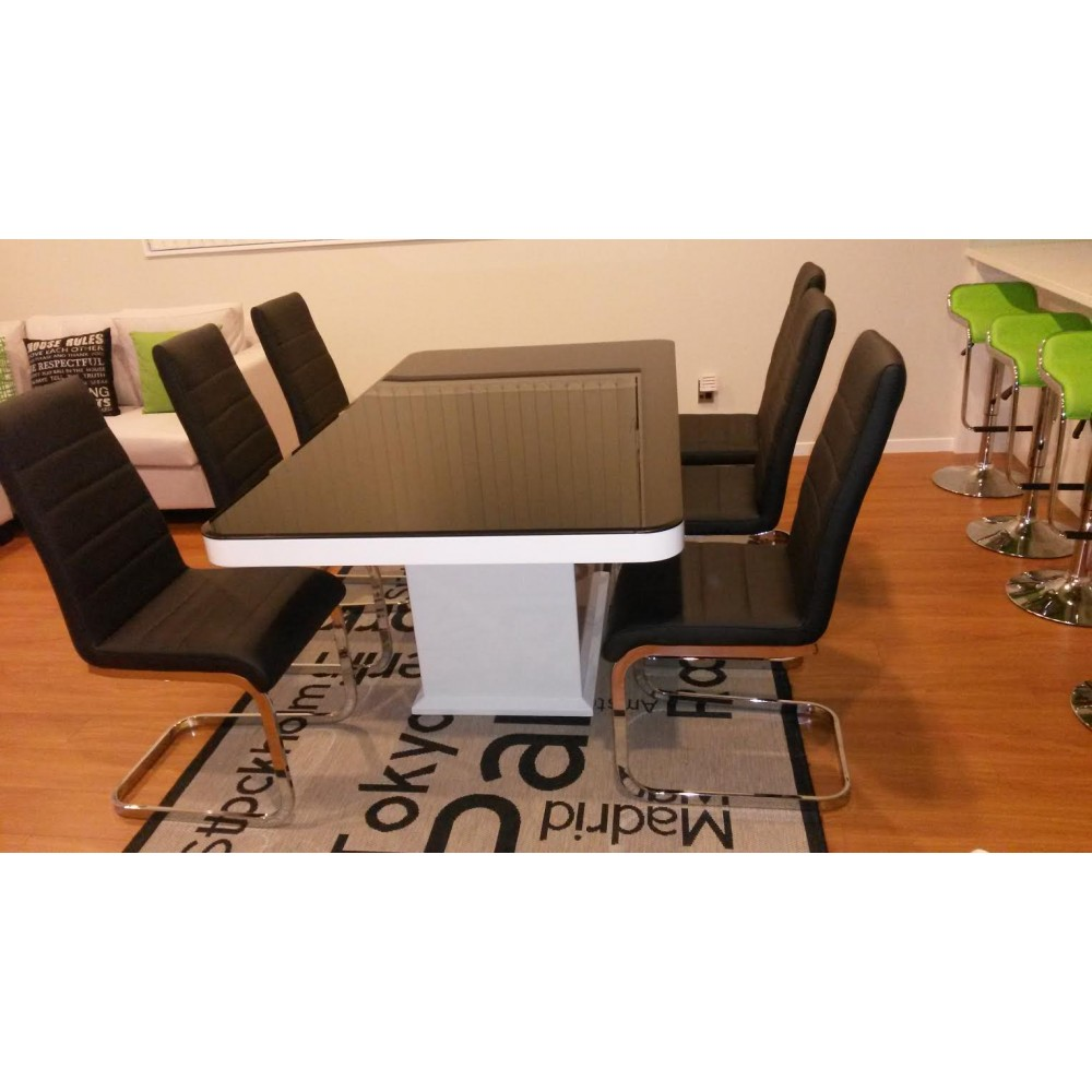8 Seater modern dining table