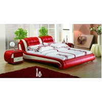 Fashion leather bed frame-King size