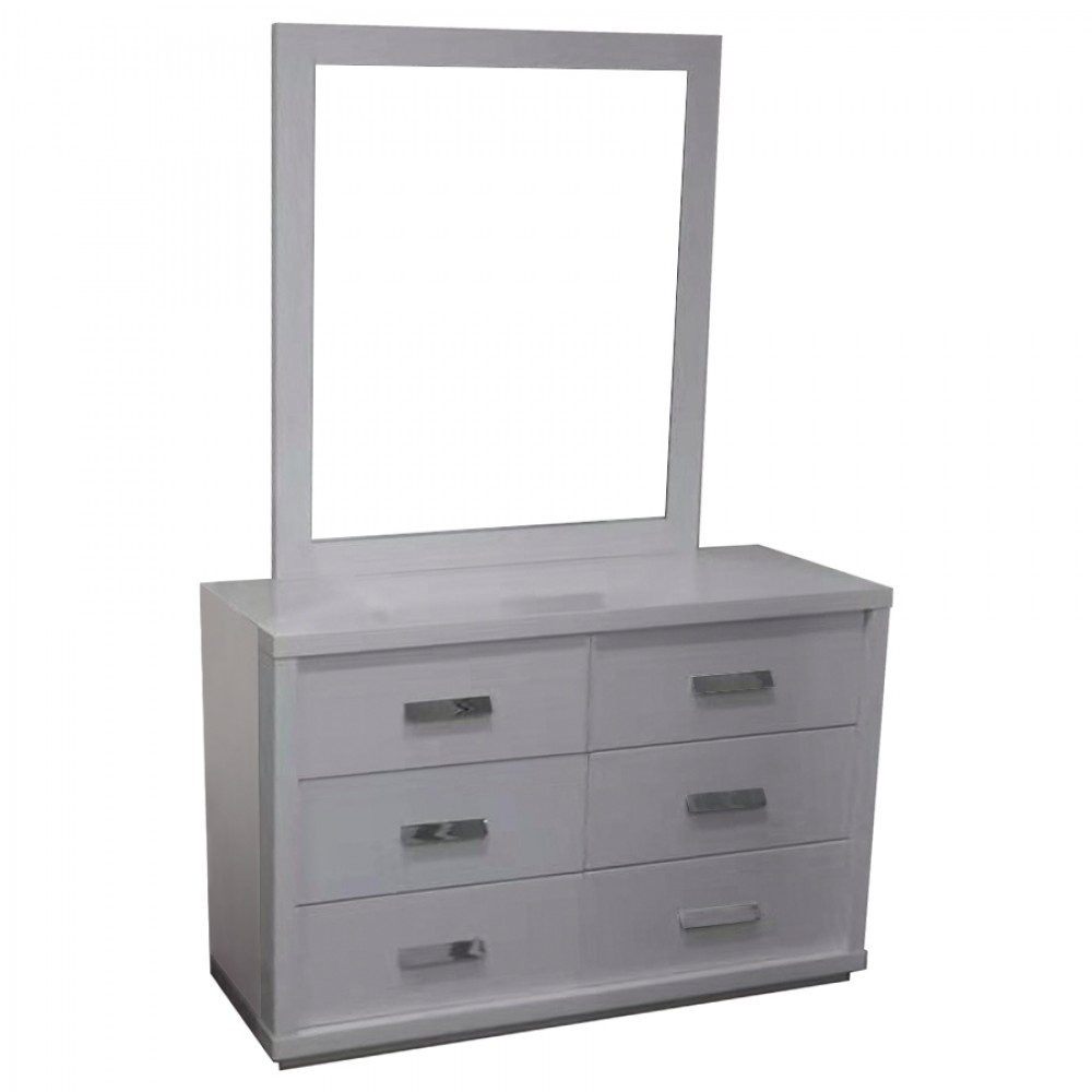 Modern white high gloss dressing table