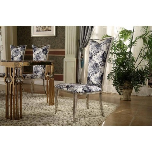 New fabric high back chair