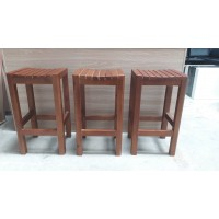 Wooden bar stool package