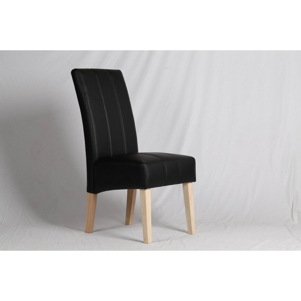 A335 Dining chair-Black