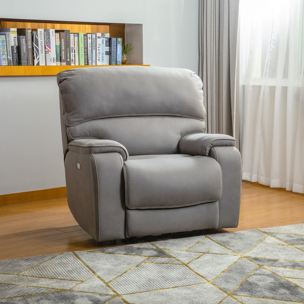 Fabric Electric Recliner Chair