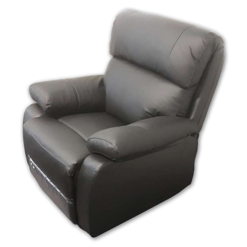 Recliner chair-black