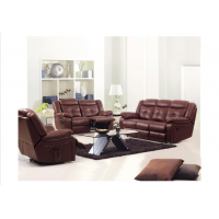 Spacious Leather Recliner sofa